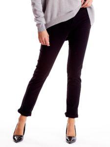 eleganckie spodnie damskie z wysokim stanem