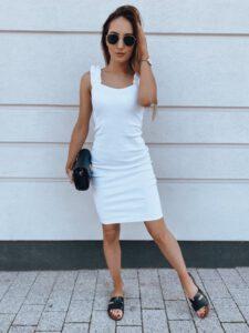 biała sukienka Vinto Dstreet